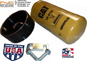 01 16 6 6l Lb7 Lly Lbz Lmm Lml Gm Chevy Duramax Cat Fuel Filter Adapter Nicktane