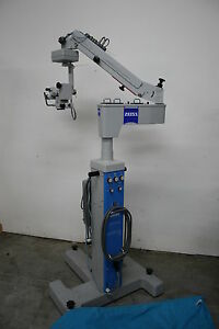 Zeiss Opmi Mdi Surgical Ophthalmic Microscope X y Auto Center Warranty Options