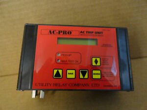 Utility Relay Ac Pro Trip Unit Micro Controller Based