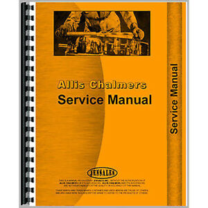 Service Manual For Allis Chalmers 940 Wheel Loaders