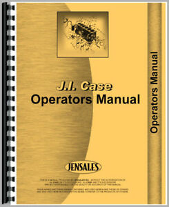Operators Manual For Case 530 Ck Tractor
