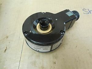 Dynapar Encoder Hs35200083447ps 5 8 Bore 5 26 Volt 10 Pin Led Used