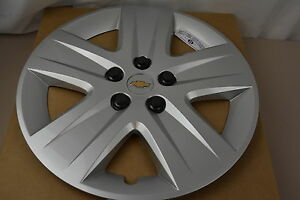 2010 2011 Chevrolet Impala With Steel Wheel Silver Hub Cap Cover New Oem 9596580
