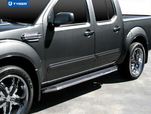 For 2005 2017 Nissan Frontier Crew Cab Black 79 Side Step Running Boards