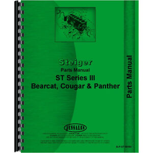 New Steiger Cougar Tractor St Series Iii Parts Manual