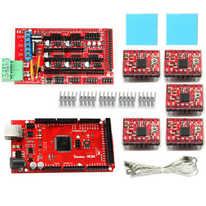 Geeetech Reprap Ramps1 4 With Pololu Stepper Driver A4988 For Arduino Mega2560