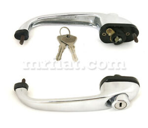 Fiat 850 N S Outer Door Handle New