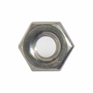 4 40 Machine Screw Hex Nuts Stainless Steel 18 8 Qty 100
