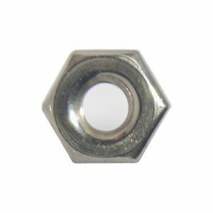 8 32 Machine Screw Hex Nuts Stainless Steel 18 8 Qty 100