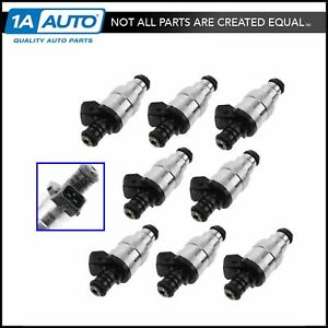 Port Fuel Injector Set Of 8 Kit For Ford Truck Lincoln Mercury V8