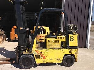 Caterpillar 8 000 Lb Capacity Forklift Hard Tire