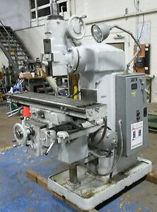 Brown Sharpe Universal Mill 2 Vertical With Tool Holders 17391isu