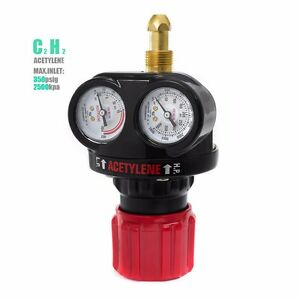 Pro Edge Acetylene Gas Welding Welder Regulator Pressure Gauge Victor Type