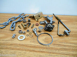 Lot Of Parts For Mercury Marine 39660a1 Control Kit Includes All Pictured