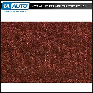 For 77 87 Chevy Caprice 2 Door Cutpile 7298 maple canyon Complete Carpet Molded