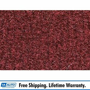 For 1977 87 Chevy Caprice 2 Door Cutpile 885 Light Maroon Complete Carpet Molded