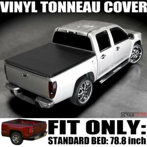 Hidden Snap Tonneau Cover 88 00 Chevy C k C10 Silverado Cab 6 5 Ft 78 Short Bed