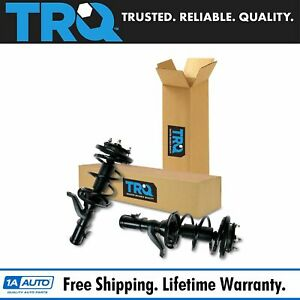 Trq Complete Loaded Strut Spring Assembly Front Set Pair 2pc For 02 05 Civic New