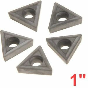 5 Pc 1 C6 Carbide Insert For Anytime Tools Indexable Lathe Toolholder Tooling
