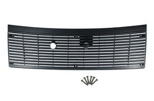 1983 1993 Ford Mustang Black Cowl Vent Grille Cover W Hardware 6 Screws
