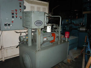 Vickers Hydraulic Power Supply Model T 80