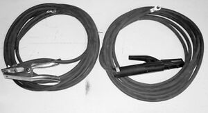 Miller 043952 Weld Leads 2 0 stinger 100ft ground 50ft 300a 100
