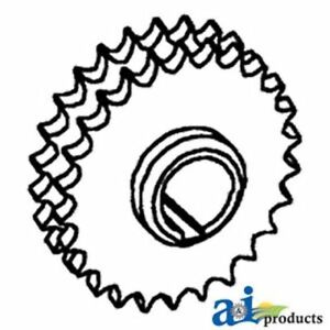 273366m91 Sprocket Top Drive Shaft Rh Fits Massey Ferguson 550 750 760 850