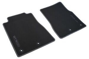 2013 2014 Genuine Ford Oem Mustang Shelby Gt500 Charcoal Black Front Floor Mats