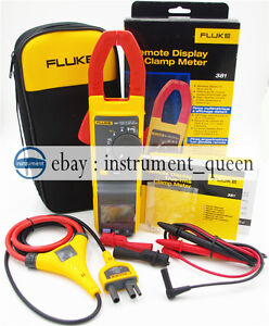 Fluke 381 Remote Display True Rms Ac dc Clamp Meter With Iflex new F381