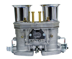 Empi 44 Hpmx Carb Only W Chrome Velocity Stacks For Dual Carb Set Up 47 1012