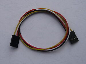 200 Pcs Jumper Wire Female To Female Pitch 2 54mm 4pin 26awg 4 Color 11 9in 30cm