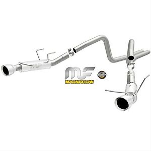 Magnaflow 2014 Ford Mustang Base 3 7l V6 2 5 2 1 2 Competition Exhaust System