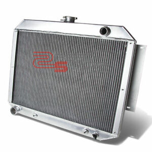 For 68 70 Chrysler Plymouth Dodge V8 At Mt 3 Row Core Full Alluminum Radiator