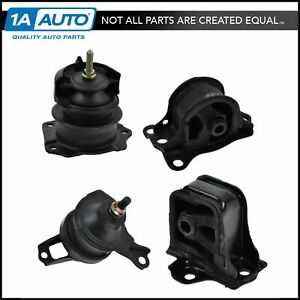 Engine Motor Auto Transmission Mount Kit Set Of 4 New For 98 02 Accord 2 3l
