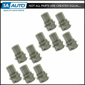 Dorman Wheel Lug Nut Cap Cover Gray Set Of 10 For Olds Intrigue Siouette Saturn