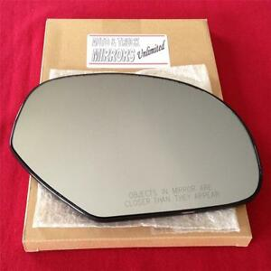 New Mirror Glass And Backing Heated Chevy Gmc Truck Suv Passenger Right Side