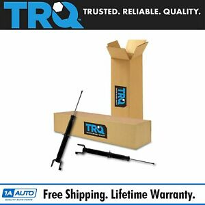 Trq Shock Absorbers Rear Left Right Pair Set 2pc For 92 01 Honda Prelude New