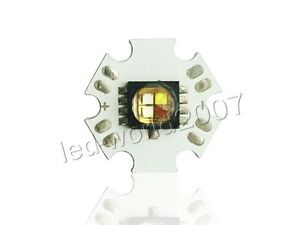 10pcs Cree Xlamp Mc e Rgbw Rgb white Led Emitter Mounted On 20mm Star Pcb Board