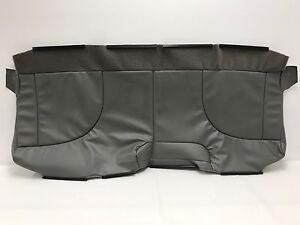 International W4300 Bench Seat Front Bottom Vinyl Replacement Seat Cover Gray