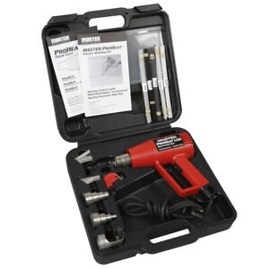 Plastic Welding Kit Weld Gun With Abs Pp Pvc Ldpe Hdpe Rod Included And Case