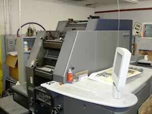 Heidelberg Di Pro Offset Press qmdi46 4 W Ps3 Rip year 2002 26 Million Imp