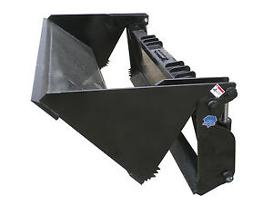 Blue Diamond 72 4 In 1 Heavy Duty Bucket Skid Steer Attachment Model 108785