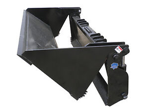 Blue Diamond 78 4 In 1 Heavy Duty Bucket Skid Steer Attachment Model 108790