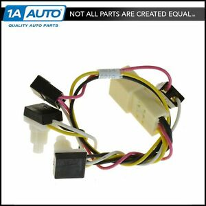 Oem Overhead Console Map Light Wiring Harness Switches For Dodge Ram New