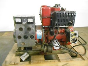 Hale Pumps Hot Shot Generator Model 4200ge d W Lombardini Motor 1 Ph 17937lr