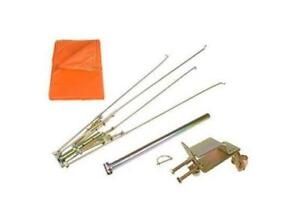 405942 New Rops Tractor Orange Umbrella Kit With Brackets For Up To 3 X 3 Tube
