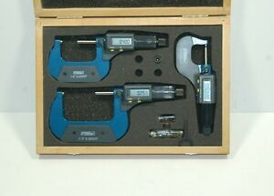 Fowler 54 850 103 Electronic Micrometer Set 0 3 Blow Out Price