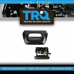 Tailgate Handle And Bezel Set Black For 02 06 Chevy Avalanche