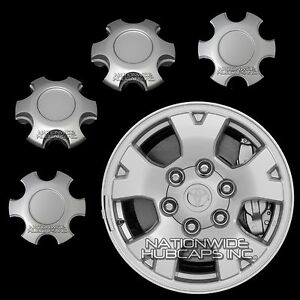 4 Fit 2005 2016 Toyota Tacoma 16 Alloy Wheel Center Hub Caps 6 Lug Nut Rim Hubs