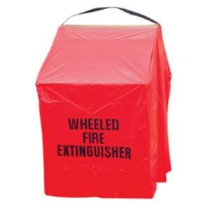 150 Lb Wheeled Fire Extinguisher Unit Cover wuc1br 53 h X 42 w X 30 d new